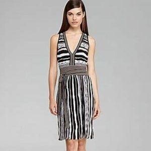 Laundry Shelli Segal Metallic Woven Dress